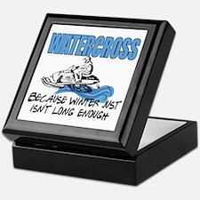 Watercross - Winter Keepsake Box