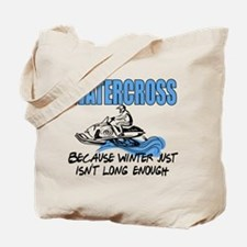 Watercross - Winter Tote Bag