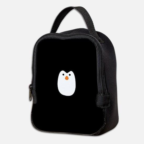 Cute Penguin Neoprene Lunch Bag