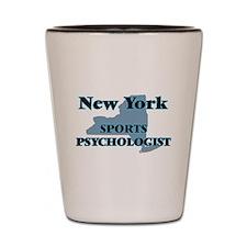 New York Sports Psychologist Shot Glass