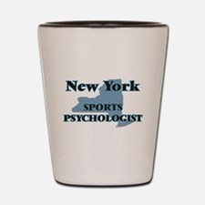 New York Sports Psychologist Shot Glass