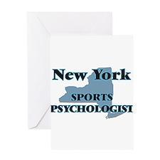 New York Sports Psychologist Greeting Cards