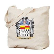 Packham Coat of Arms - Family Crest Tote Bag