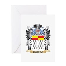 Packham Coat of Arms - Family Crest Greeting Cards