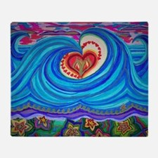 Funny Love curl Throw Blanket
