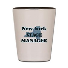 New York Stage Manager Shot Glass
