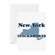 New York Stockbroker Greeting Cards