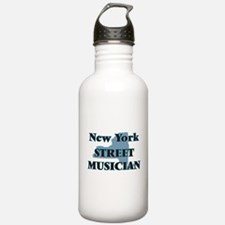 New York Street Musici Water Bottle