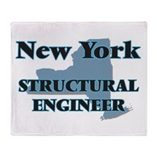 New York Structural Engineer Throw Blanket