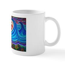 Ocean Lotus (floral bottom) Mugs