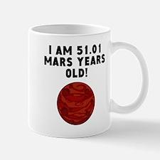 96th Birthday Mars Years Mugs