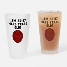 95th Birthday Mars Years Drinking Glass