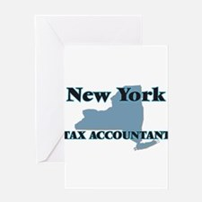 New York Tax Accountant Greeting Cards