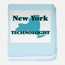 New York Technologist baby blanket