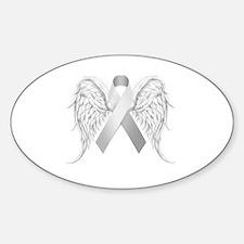 Unique Remembrance Sticker (Oval)