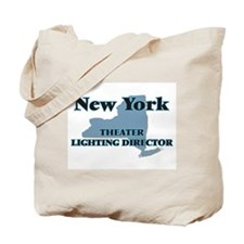 New York Theater Lighting Director Tote Bag