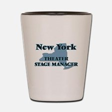 New York Theater Stage Manager Shot Glass