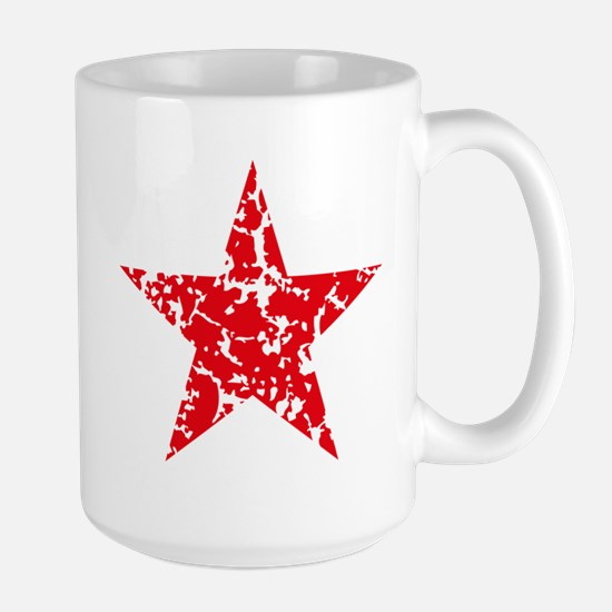 Red Star Vintage Large Mug