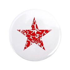 Red Star Vintage Button