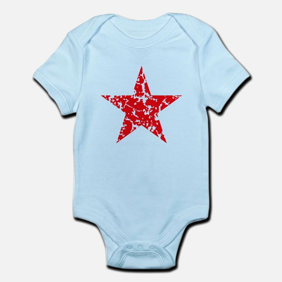 Red Star Vintage Body Suit