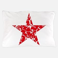 Red Star Vintage Pillow Case