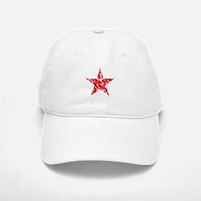 Red Star Vintage Baseball Baseball Cap