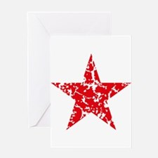 Red Star Vintage Greeting Cards