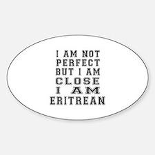 Eritrean Designs Sticker (Oval)