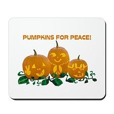 Peace Pumpkins Mousepad
