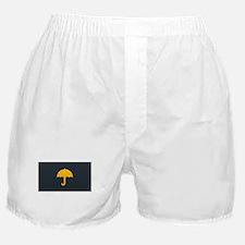 Cute Yellow Umbrella Boxer Shorts