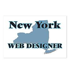 New York Web Designer Postcards (Package of 8)