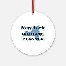 New York Wedding Planner Round Ornament
