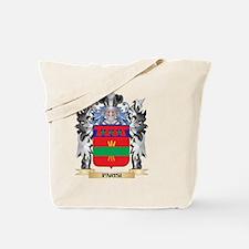 Parisi Coat of Arms - Family Crest Tote Bag