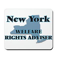 New York Welfare Rights Adviser Mousepad