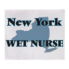 New York Wet Nurse Throw Blanket