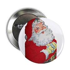 """Santa Claus 2.25"""" Button (10 pack)"""