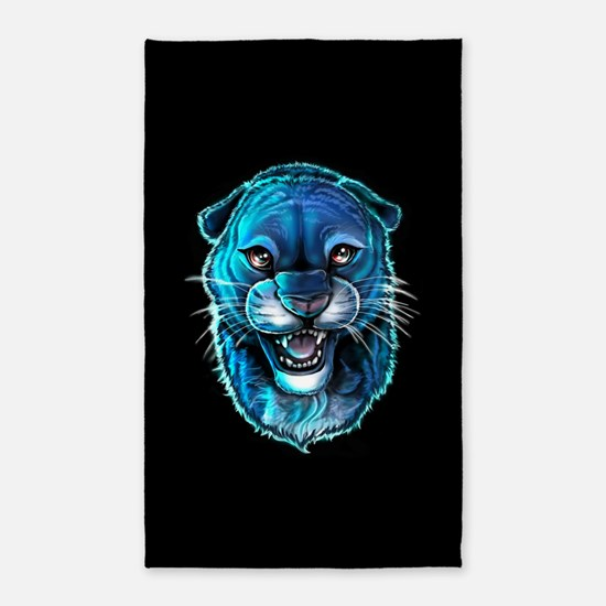 Black Panther Area Rug