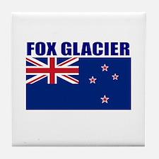 Fox Glacier, New Zealand Tile Coaster