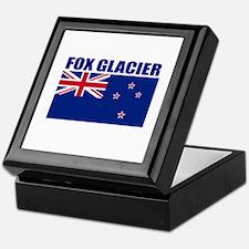 Fox Glacier, New Zealand Keepsake Box