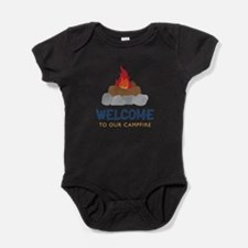 Welcome To Campfire Baby Bodysuit