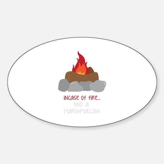 Incase Of Fire Decal
