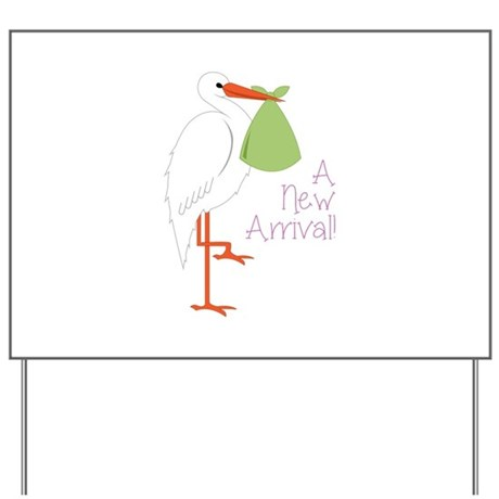 New Arrival Baby Yard Sign By Concord28