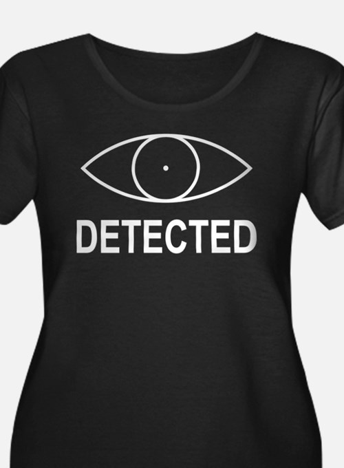 Detected Skyrim Plus Size T-Shirt