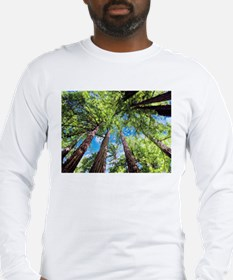 Muir Woods and the Very Blue S Long Sleeve T-Shirt