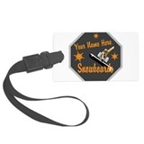 Snowboarding Luggage Tags