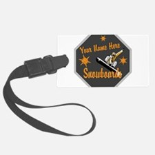 Snowboard Shop Luggage Tag