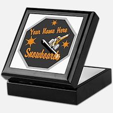 Snowboard Shop Keepsake Box