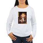 The Queen's Corgi Women's Long Sleeve T-Shirt