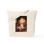 The Queen's Corgi Tote Bag