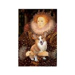 The Queen's Corgi Rectangle Magnet (10 pack)